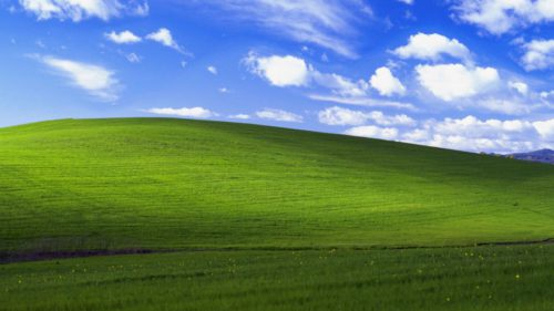 Două poze au fost legendare în Windows XP, dar una a costat o avere