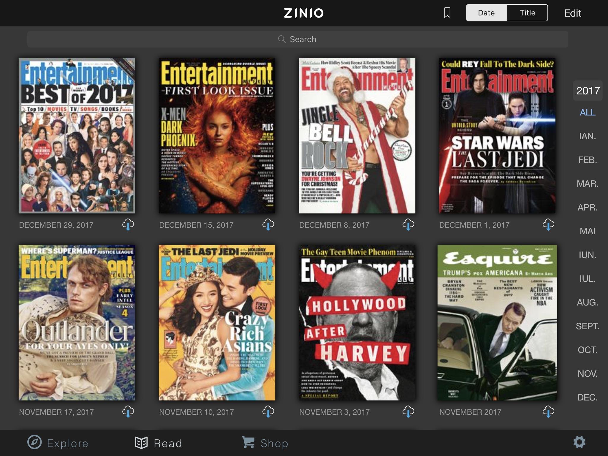 zinio reviste ibooks
