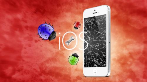 Vulnerabilitate iOS: un simplu mesaj îți pune iPhone-ul pe butuci