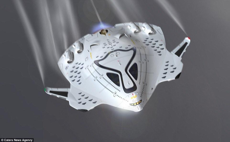 Magnavem avion hipersonic motor nuclear