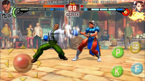 Street Fighter IV Champion Edition este disponibil pe Android