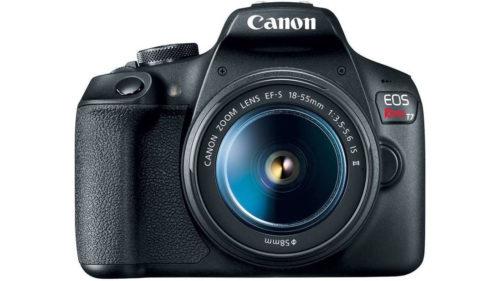Canon Rebel T7 e DSLR perfect pentru fotografii amatori