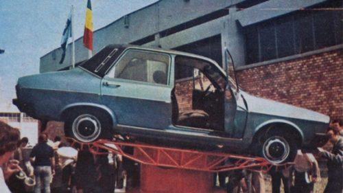 Dacia 1310 TS, modelul rar fabricat în România comunistă