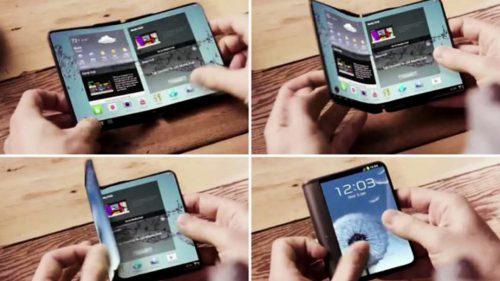 Samsung a confirmat lansarea telefonului pliabil în 2018, pentru prima oară