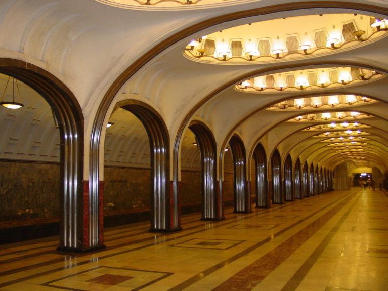 metrou din moscova