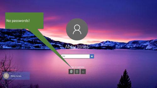 Microsoft va renunța la parolele tradiționale în viitorul Windows 10