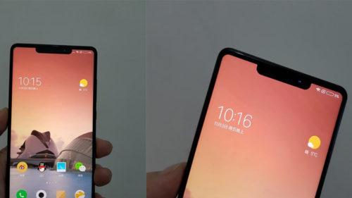 Xiaomi Mix 2S seamănă mult prea tare cu iPhone X