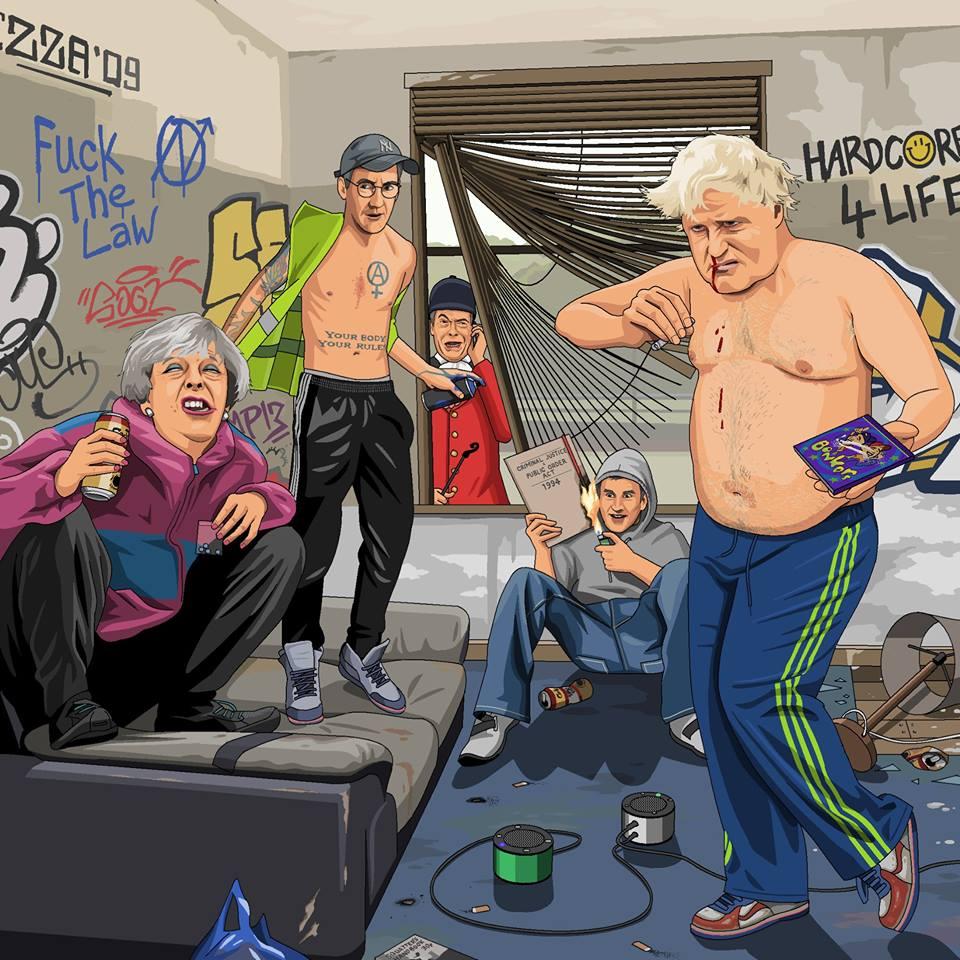 Brexit Marea Britanie Jim'll Paint IT