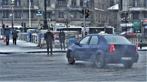 Condus in Bucuresti