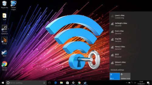 Cum afli parola unei rețele wireless pe Windows 10