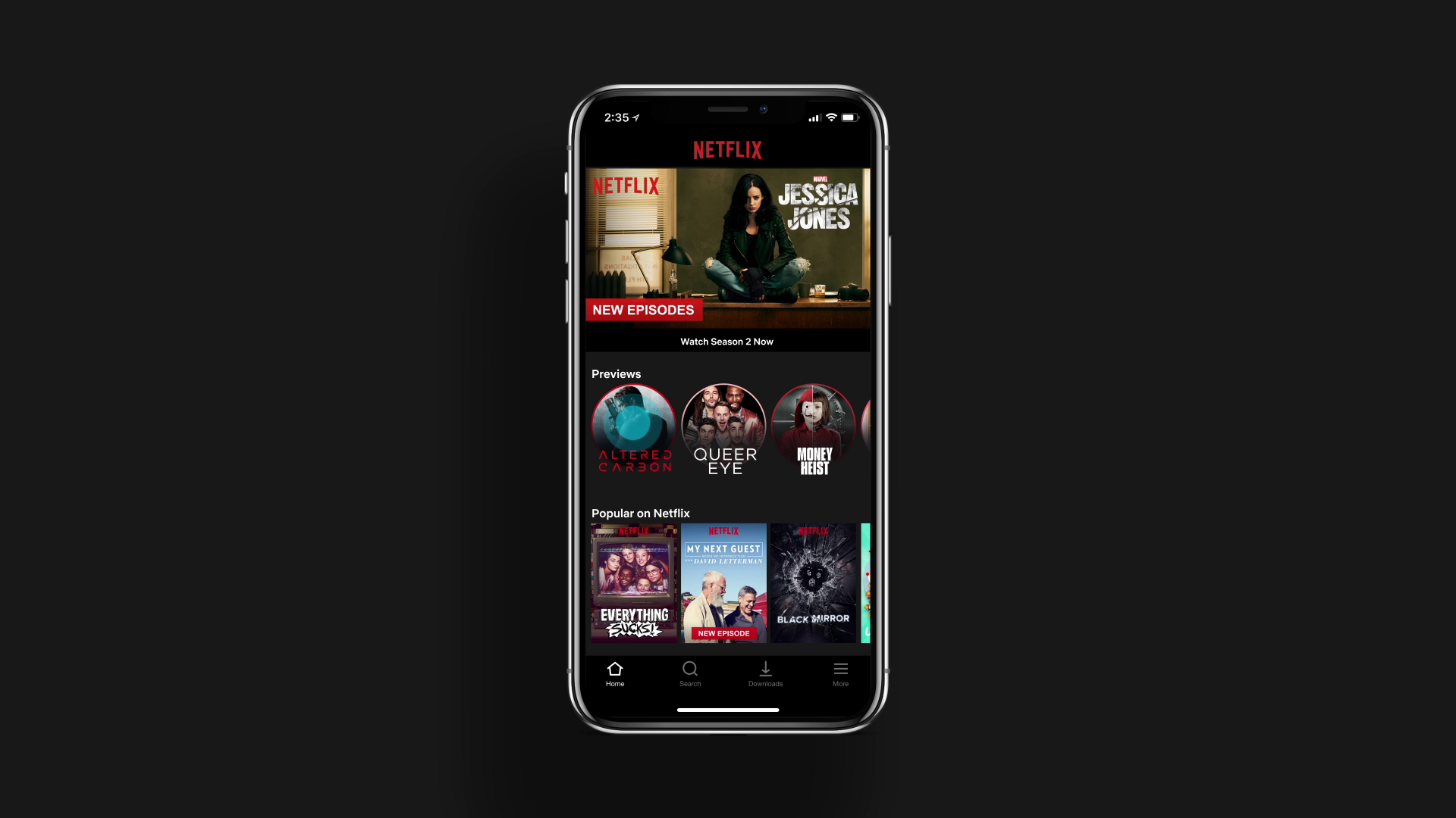 Netflix previzualizari Android iOS 1