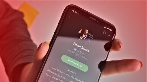 Spotify, oficial în România: cel mai nou loc unde îl găsești pe Florin Salam