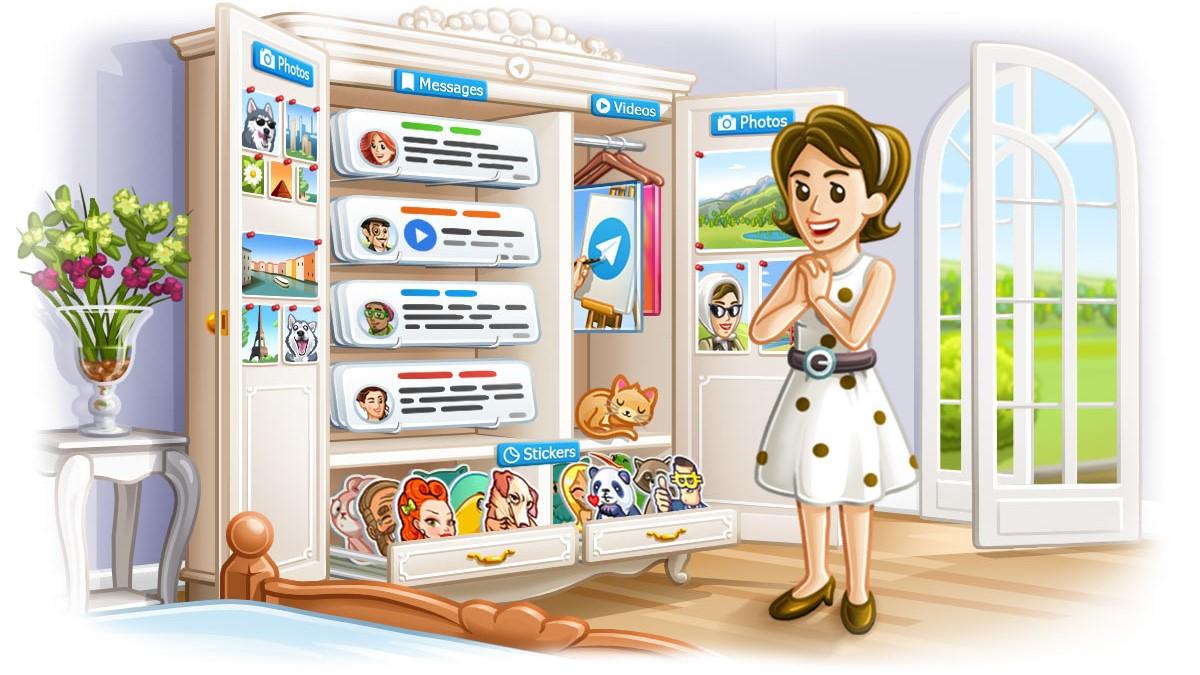 Telegram aplicatie chat