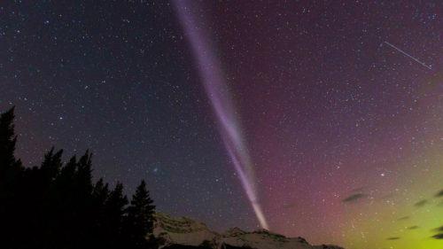 Steve este noua formă de auroră boreală descoperită de savanți