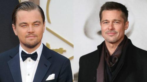 Brad Pitt și Leonardo DiCaprio joacă într-un film despre crimele lui Manson