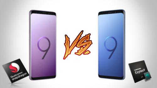 Care versiune de Samsung Galaxy S9 Plus este mai rapidă: Exynos versus Snapdragon