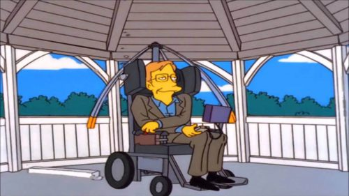 "Stephen Hawking a primit un tribut memorabil în ""The Simpsons"""