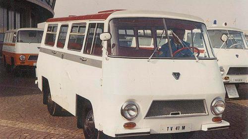 Prima dubă românească: povestea mașinii TV produsă de Rocar