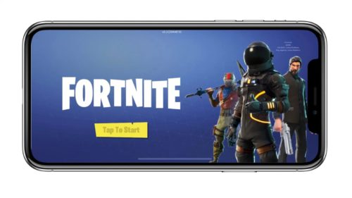 Fortnite iOS disponibil