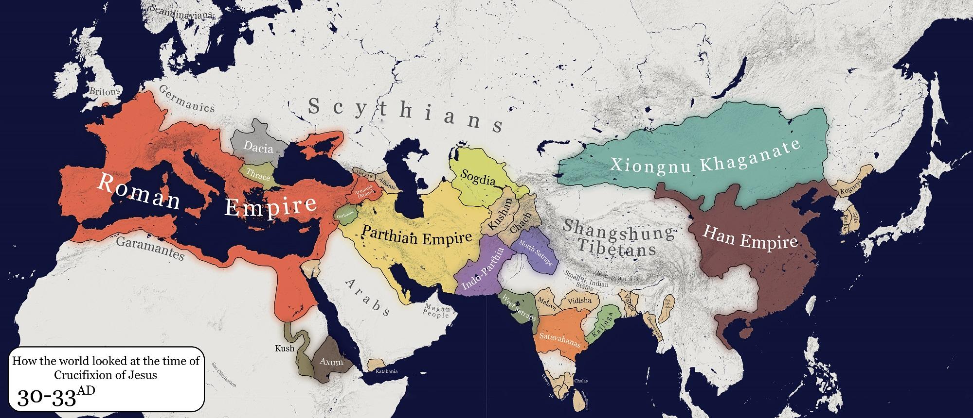Harta lumea rastignire iisus