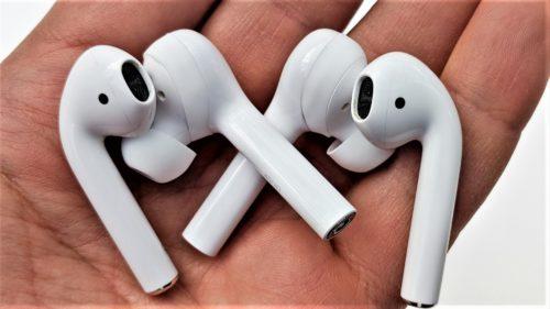 Căștile Huawei pentru P20 prin care copiază AirPods de la Apple