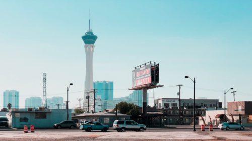 Las Vegas cu iPhone X COVER
