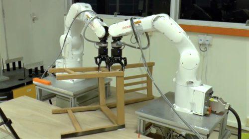 Robotul care îți livrează și asamblează mobila de la IKEA