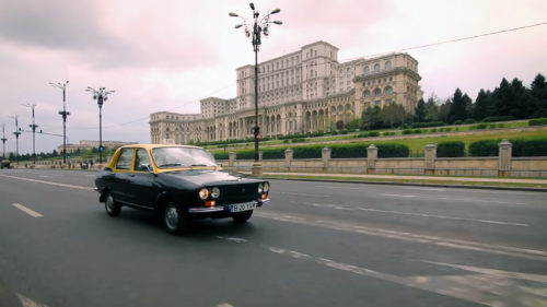 """Dacia 1310 Hycomat, mașina """"monstruoasă"""" cu trei volane"""