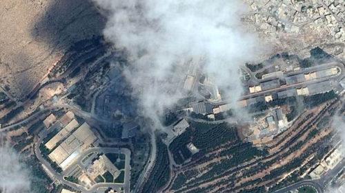 Imaginile prin satelit iți arată Siria înainte și după ultimul atac