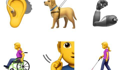 De ce ai nevoie de emojiurile Apple dedicate persoanelor cu dizabilități
