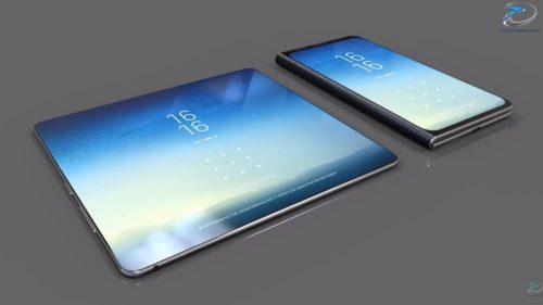 Samsung Galaxy X ar putea fi un telefon pliabil cu trei ecrane
