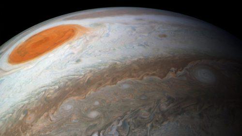 Ultimele imagini cu Jupiter trimise de Juno sunt spectaculoase