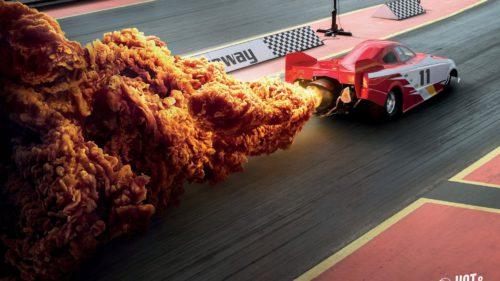 Imaginile care te vor face să vezi cu alți ochi puiul picant de la KFC