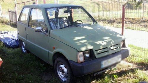 Dacia 500, știută drept Lăstun: povestea celei mai mici mașini din România