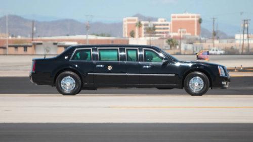 """Cât de rezistentă este """"Bestia"""", limuzina lui Donald Trump"""