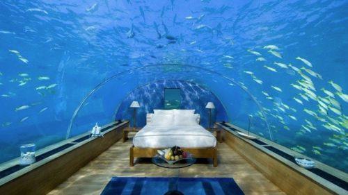 <span class='highlight-word'>VIDEO</span> Cum arată prima casă unde poți petrece un sejur subacvatic