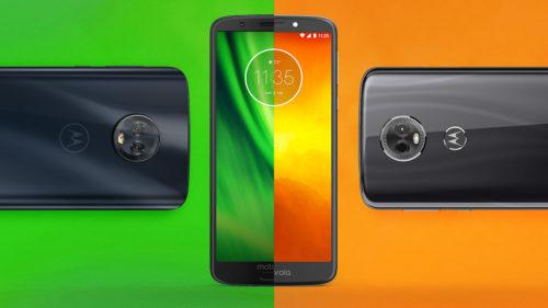 Motorola moto G6 și moto E5: specificații și preț estimativ