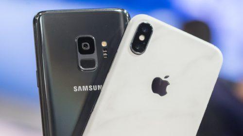 Samsung Galaxy S9 vs. iPhone X: care descarcă mai repede de pe net