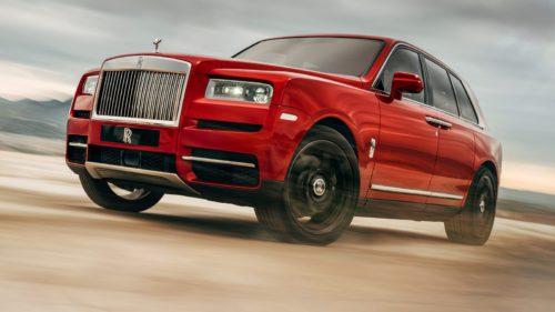 <span class='highlight-word'>FOTO</span> Cum arată primul SUV marca Rolls-Royce, Cullinan