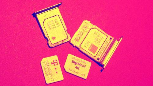 Digi Mobil Orange Vodafone Telekom cartele SIM