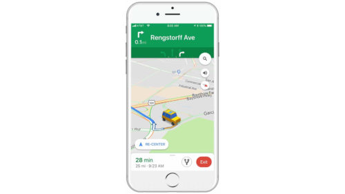 Google Maps devine mai distractiv și mai interesant, printr-un update