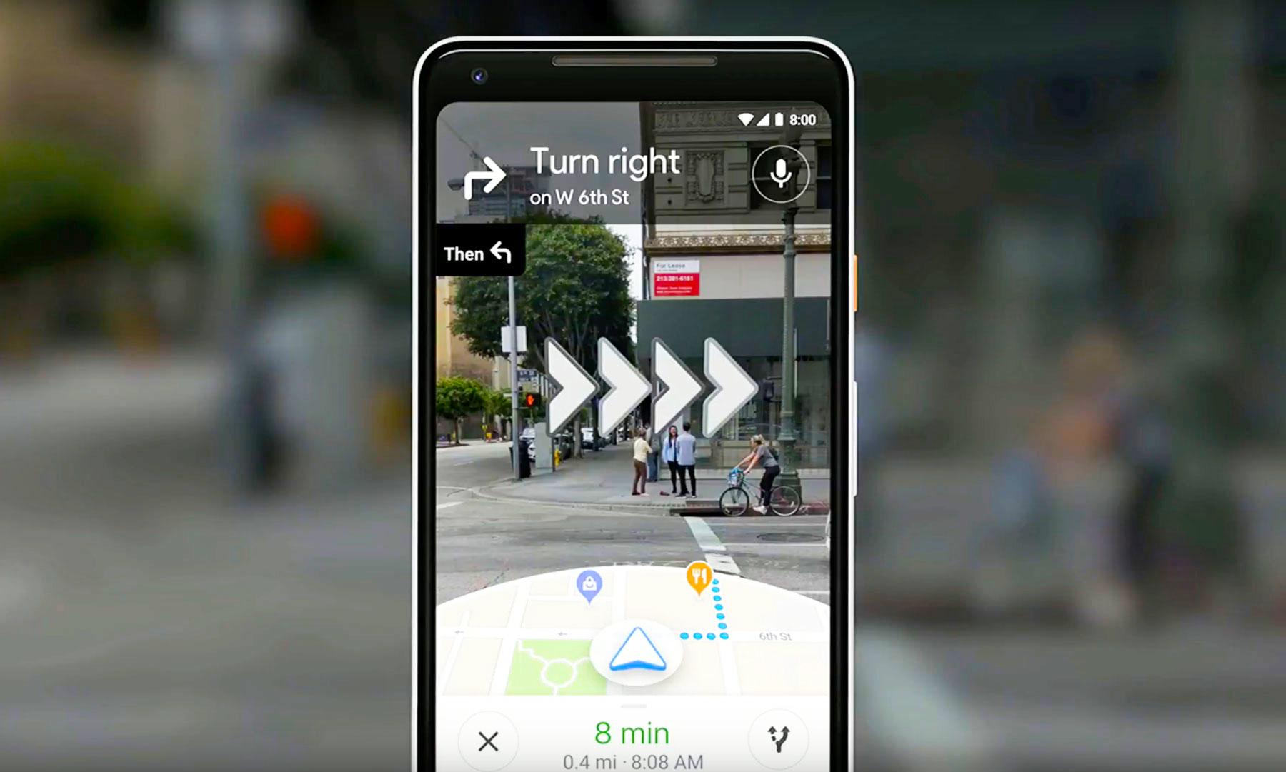 Google navigare vizuala