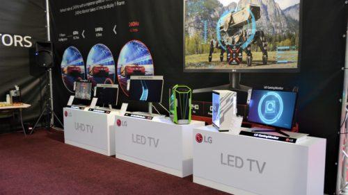LG a prezentat la Comic Con monitoarele ideale pentru gaming