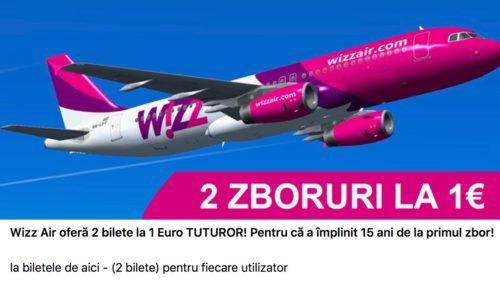 Țeapa cu bilete gratuite Wizz Air de care să te ferești pe Facebook