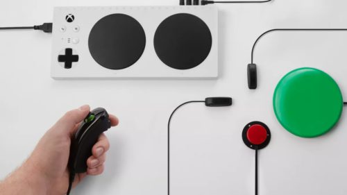 Xbox primește un controller pentru persoane cu handicap