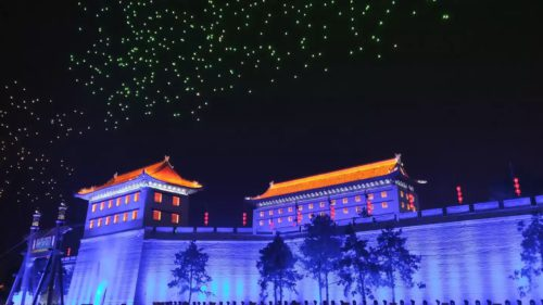Chinezii au stabilit un record mondial cu drone