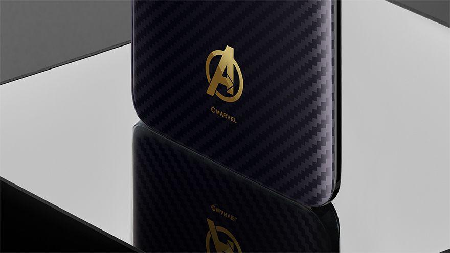 oneplus 6 avengers iron man