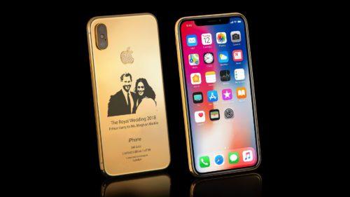iPhone X Elite, telefonul care costă o avere și e dedicat nunții regale