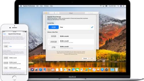 Apple vine cu cea mai enervantă ofertă de spațiu în iCloud