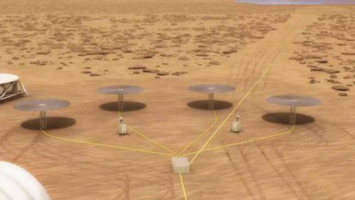 Reactorul nuclear de pe Marte e inovator, dar deșeurile tot sunt